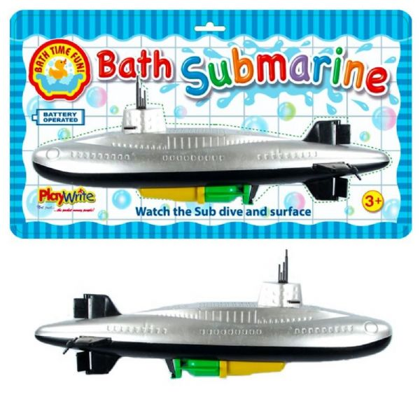 Battery Operated Submarine Bath Toy - Fun Bath Time Toy
